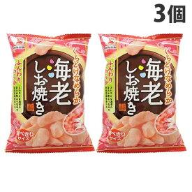 越後製菓 海老しお焼き 40g×3個