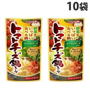 ダイショー 野菜をいっぱい食べる鍋 トマトチーズ鍋スープ 750g×10袋