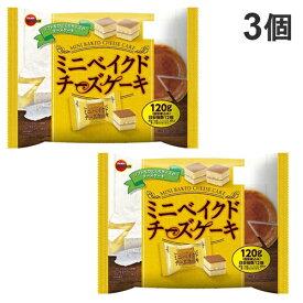 ブルボン ミニベイクドチーズケーキ 120g×3個