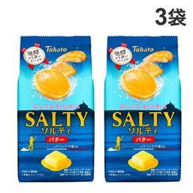 東ハト ソルティ バター 10枚入×3袋