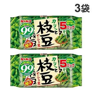 ギンビス 枝豆ノンフライ焼き 5P入×3袋