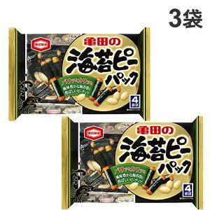 亀田製菓 海苔ピーパック 89g×3袋