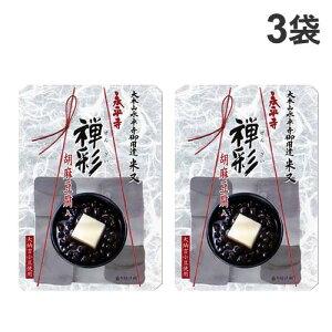 米又 永平寺 禅彩 ぜんざい 胡麻豆腐入 180g×3袋