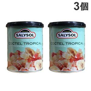サリソル トロピカルフルーツカクテル 40g×3個