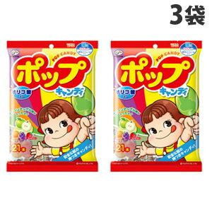 不二家 ポップキャンディ ポップキャンディ 袋 21本入×3袋