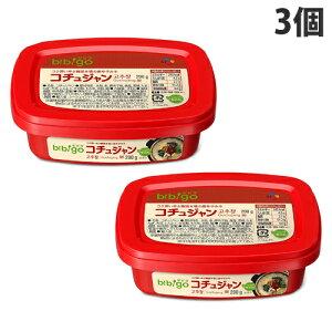 CJジャパン bibigo コチュジャン 200g×3個 韓国 ビビゴ cj 辛口 無添加