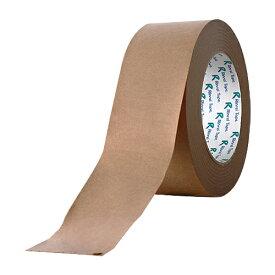 リンレイテープ 多機能クラフトテープ 茶 50巻