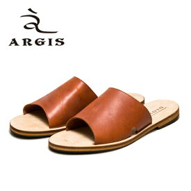 ARGIS アルジス 93115 サンダル メンズ 本革 カジュアル BROWN ブラウン レザー リゾート レザーサンダル 日本製 Made in JAPAN 【あす楽】【店頭受取対応商品】