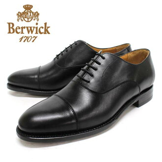 Berwick Berwick 3010 BLACK: black leather cowhide leather bottom mens in blades straight tip black = = 10P25Oct14