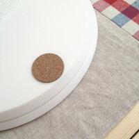 外周を段落とし…内径:24.3cm以上、外径:26cm以内のケーキフードに対応可能