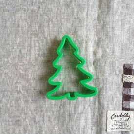 cakeland P.クッキー抜き型(ツリー) クリスマス クッキー型 0746