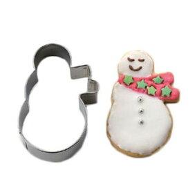 cakeland 抜型 雪だるまマフラー クリスマス クッキー型 パン道具 お菓子道具 調理 製菓 製パン 1941