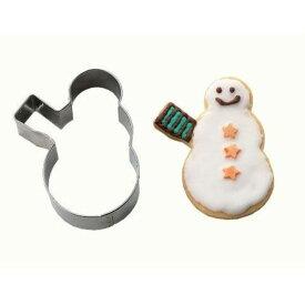 cakeland 抜型 雪だるまスコップ クリスマス クッキー型 1942