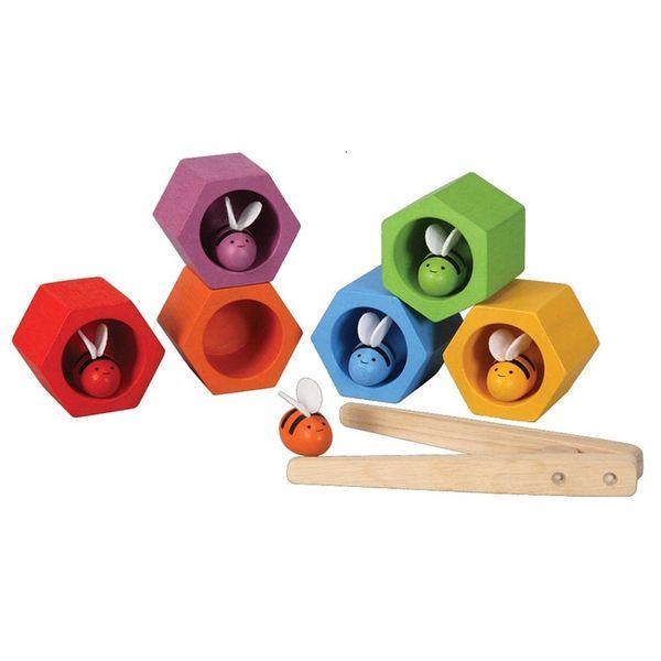 ビーハイブ (4125) PLANTOYS プラントイの木のおもちゃ 誕生日 プレゼントに人気 子供向け木製玩具