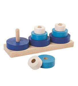 トリオスタッキング 男の子 女の子 0歳 1歳 2歳 木のおもちゃ 木製玩具 幼児 子ども 木製 プレゼント ギフト 誕生日 PLANTOYS (プラントイ) 【店頭受取対応商品】