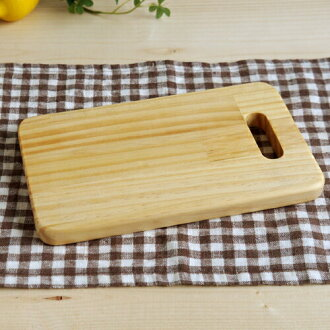 (Wooden house kitchen series) House cutting boards (square type) wooden house cutting board