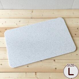 まーぶるめん台(L) (パンこね台)約76.5×48.5cm 大きめサイズ パン作り うどん そば パスタ パイ ピザやクッキーの生地作り のし台 こね台 お菓子の作業台 人工大理石のペストリーボード (パン作り道具/お菓子作り道具/調理道具)