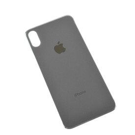 【iPhoneX】 バックパネル ブラック ホワイト アイフォン修理用背面ガラスパネル 交換用パーツ