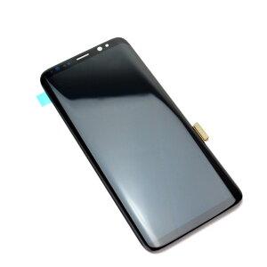 SAMSUNG Galaxy S8 フロントパネル ギャラクシーS8 ガラス割れ 液晶割れ 修理用パーツ【SCV36 SC-02J】 ゆうパケット可