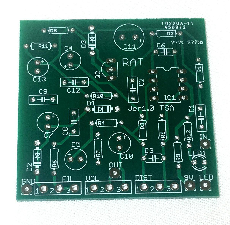 【メール便なら送料無料】ProCo RATモデル プロコ ラット風 ディストーション エフェクター自作用基盤