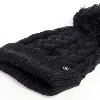 スノーボードスキー防寒ニット帽ビーニーレディースメンズ