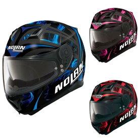 \実質50%クーポン発行中★12/5(土)限定/【ダブルバイザー】【3XLまで】Nolan ノーラン N87 Ledlight integral Helmet フルフェイス ヘルメット バイク ダブルバイザー 女性にも 大きいサイズありかわいい街乗り