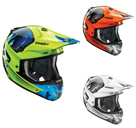 SALE Thor ソアー Verge Vortechs Helmet 2017モデル オフロード モトクロス ヘルメット 【緑ネイビー】【オレンジ灰】【白灰】【AMACLUB】 おすすめ