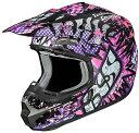 【女性用】IXS イクス HX 261 Emotions Black/Pink/Grey Helmet 2017モデル レディース オフロード モトクロス ヘル...