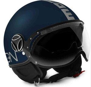 \9/25(金)限定★実質30%クーポン発行中/【ダブルバイザー】MOMO DESIGN モモデザイン FGTR EVO Jet ヘルメット Blue/Silver ジェットヘルメット 内部 バイクブランド エヴォ ブルー シルバー アメリカ
