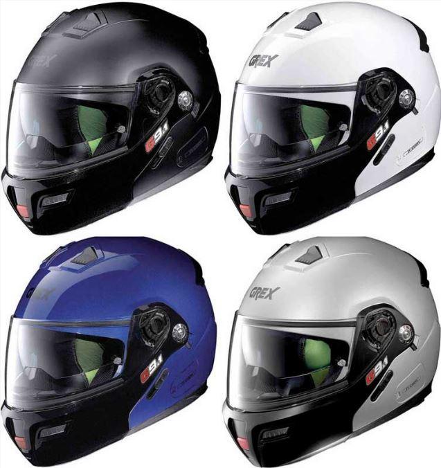 【フリップアップ】【ダブルバイザー】Grex グレックス G9.1 Evolve Couple N-Com Helmet フルフェイスヘルメット バイク ツーリング Nolan製 エボルブ 【黒】【白】【青】【シルバー】【AMACLUB】 おすすめ