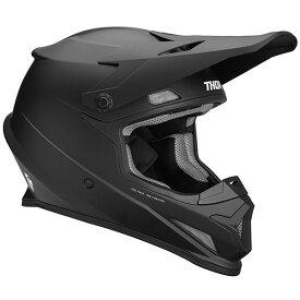 Thor ソアー SECTOR SOLID HELMET 2019モデル オフロードヘルメット モトクロスヘルメット バイク セクター ソリッド 【黒】【AMACLUB】 おすすめ