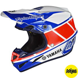 TROY LEE DESIGNS トロイリーデザイン SE4 COMPOSITE YAMAHA RS1ヘルメット オフロードヘルメット バイク MIPS コンポジット ヤマハ 【AMACLUB】