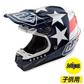 【子供用】【MIPS】 TROY LEE DESIGNS SE4 POLYACRYLITE FREEDOM 2020モデル ポリアクリライト フリーダム モトクロスヘルメット オフロードヘルメット バイク かっこいい キッズ ユース