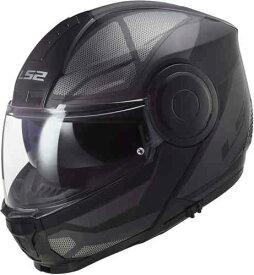 【フリップアップ】LS2 エルエスツー FF902 Scope Axis フルフェイスヘルメット システムヘルメット サンバイザー ライダー バイク ツーリングにも かっこいい おすすめ (AMACLUB)