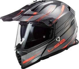 LS2 エルエスツー MX436 Pioneer Evo Knight モトクロスヘルメット オフロードヘルメット ライダー バイク かっこいい おすすめ (AMACLUB)