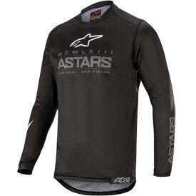 Alpinestars アルパインスター Racer Graphite Jersey, Pant Combo モトクロス オフロードウェア ジャージ&パンツ 上下セット ライダー バイク ツーリングにも かっこいい おすすめ (AMACLUB)