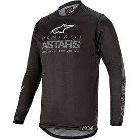 【子供用】Alpinestars アルパインスター Racer Graphite Jersey, Pant Combo (Youth) モトクロス オフロード ウェア バイク 上下セット ライダー バイク かっこいい おすすめ (AMACLUB)