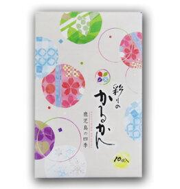 鹿児島銘菓!彩りのかるかん(10個入)【鹿児島土産】【ギフト】【西郷どん】