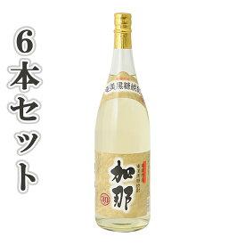奄美黒糖焼酎 加那 30度 一升瓶1800ml×6本 西平酒造 奄美 黒糖焼酎 ギフト 奄美大島 お土産