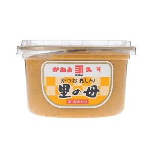 カネヨ醤油 みそ だし入り味噌 里の母750g かねよしょうゆ 合わせ味噌 白みそ 奄美大島