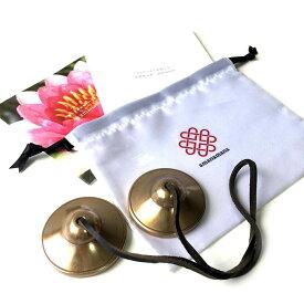 ティンシャ プレミアム・ティンシャ M [アマナマナ公式] ヨガ・癒しのプロ用 浄化 瞑想 集中 チベタン ベル
