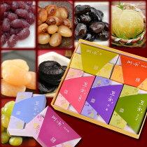 お歳暮限定・送料無料/7種類の甘納豆から選べる詰合せ■豆彩5個詰合