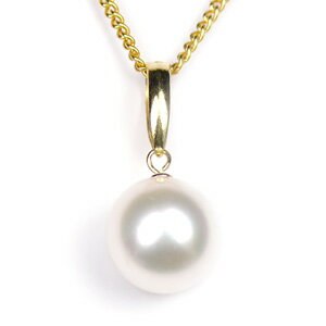 真珠 パール ネックレス あこや 送料無料 あこやパール8.5〜9.0mm K18 ゴールド ネックレスペンダント