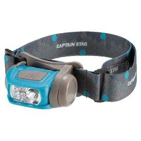キャプテンスタッグ CAPTAIN STAG キャンプ 登山用 アウトドア LEDヘッドライト ギガフラッシュ ハニカム UK-3019 ブルー グリーン ハイパワー 灯り 照明 ライト 懐中電灯 簡単 便利 明るさ調節 3段階 レッドライト レジャー 遠足 山登り