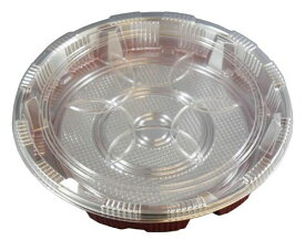 寿司桶3号 3P 使い捨て 容器 パック 寿司 寿司桶 チラシ寿司 お弁当 パーティー 大人数 運動会 公園 遠足 アウトドア キャンプ