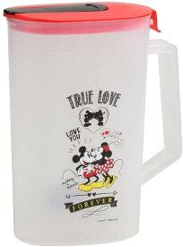 麦茶ポット 2L 麦茶ポット WD9079 冷水ポット 2.0L ピッチャー 2リットル お茶 麦茶 2000ml パール金属 ミッキー&ミニー ディズニー かわいい おしゃれ ミッキーマウス ミニーマウス ジャグ ピッチャー 水差し
