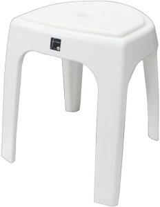 トンボ フロート 風呂椅子 高さ 40cm クッション付 ホワイト 77181  N40