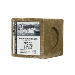 【LA CORVETTE】 【サボン・ド・マルセイユオリーブ】【300g】La Corvette ラ・コルベット 南仏マルセイユ オリーブオイル ボディケア 石鹸 ココナッツオイル 無添加 天然植物オイル オリーブ石鹸