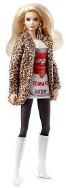 【数量限定品】デザイナーコラボバービー<Barbie>アンディ・ウォーホール♯2キャンベルズスープ