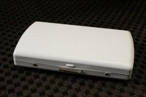 【PEARL】ブランドシガレットケース iQOS (アイコス)ヒートスティック専用 20本 マットホワイト 白 / アイコスケース 人気 たばこケース おしゃれな艶消し白 レディース メンズ 日本製 IQOS ケ